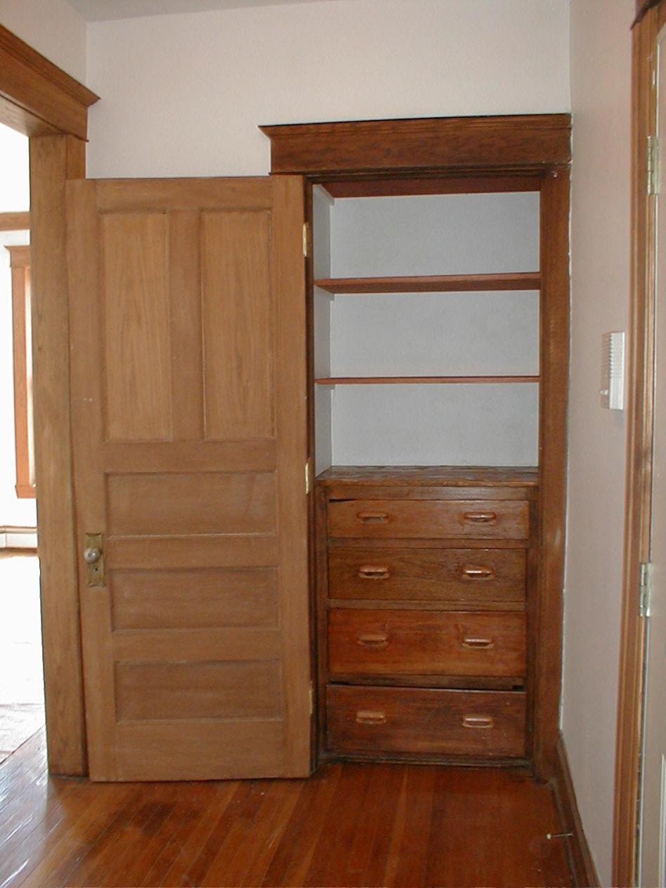 Vintage Built-In closet
